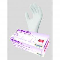 VE2 VINYL GLOVES MEDIUM CLEAR RONCO 100/BOX