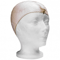 """RONCO MESH HAIRNETS 21"""" 100/BX BROWN RONCO EASY BREEZY"""