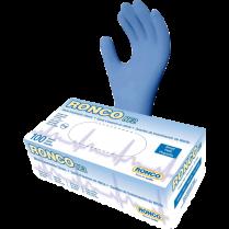 N2 NITRILE EXAM GLOVES SMALL BLUE POWDER-FREE RONCO 100/BOX