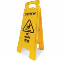SIGN SAFETY CAUTION WET FLOOR