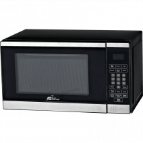 RS MICROWAVE 0.7cuft BLK/STNL