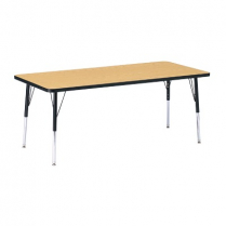 RECTANGLE TABLE BLUE 30 X 72
