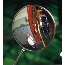 EXTERIOR CONVEX MIRROR 18in THE SAFETY ZONE