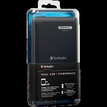DUAL USB POWER PACK 12000MAH VERBATIM