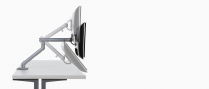 HERMAN MILLER FLO SNGLE-SCREEN MONITOR ARM