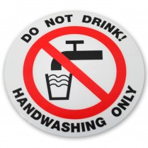 Decal- Do Not Drink
