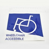 Decal- Wheelchair Accessible
