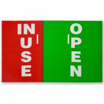 Decal- Latch Open/Inuse Syn