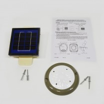 Kit- Solar Light Dbl Wall Rf