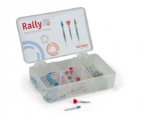 GARRISON RALLY COMP. POLISHER RED MEDIUM GRIT CUP 30PCS