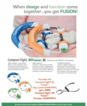 GARRISON COMPOSI-TIGHT 3D FUSION RING KIT 3PCS WITH FORCEPS