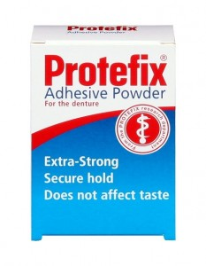 PROTEFIX ADHESIVE POWDER FOR DENTURES 20G