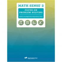 Math Sense 2: Focus on Problem Solving (2692)