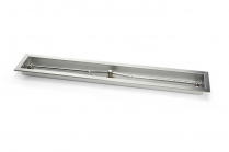 "STAINLESS STEEL TROUGH BURNERS 60"" LONG-16g SS"