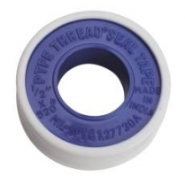 "TEFLON TAPE,PIPE SEALER, 1/2 X 520"" ROLL"
