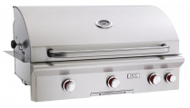 "AOG 36"" BUILT-IN GRILL-PIEZO ""RAPID LIGHT"" IGNITION"
