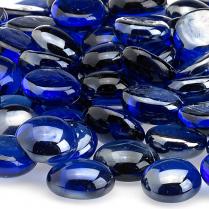 Royal Blue Luster, 10 lb. Jar Fire Beads