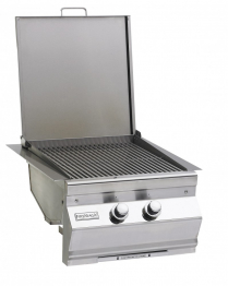 DBL SEARING STATION/SIDE BURNER-BUILT-IN