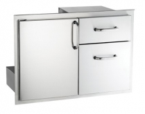 ACCESS DOOR W/DOUBLE DRAWER