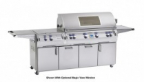 DIAMOND SERIES ECHELON CABINET GRILL W/POWER BURNER-LP