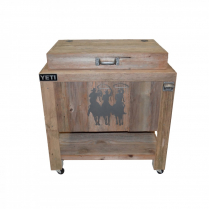 YETI COOLER - 45 TRES HOMBRES - PEWTER