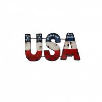 USA--METAL SIGN