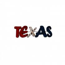 TEXAS--METAL SIGN