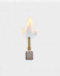 SINGLE OPEN FLAME BURNER (SHORT STEM)