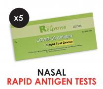 COVID-19 Antigen Rapid Test - 5 Tests