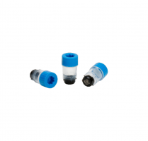 2D Data Matrix Tubes SX300 (µl) blue caps, Bags, Bulk
