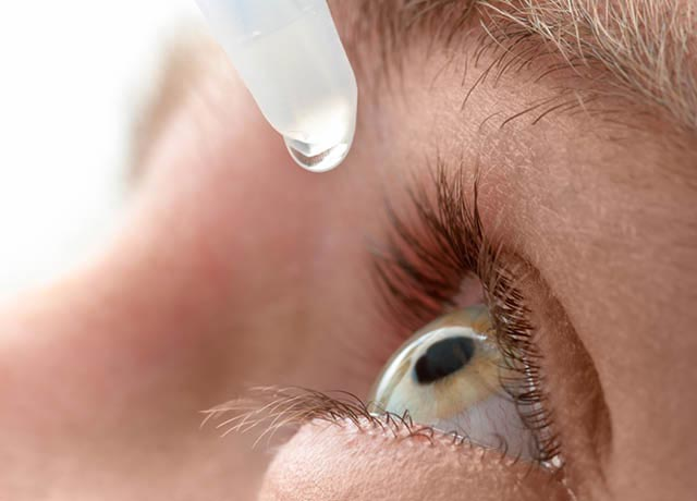 eye drops for chronic dry eye