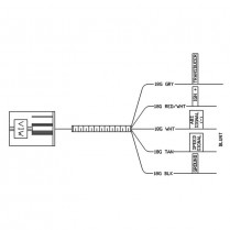 Non-Can Harness for TID11044
