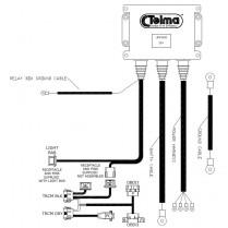Harness for Shuttle systems with new Telma module w/JD331121
