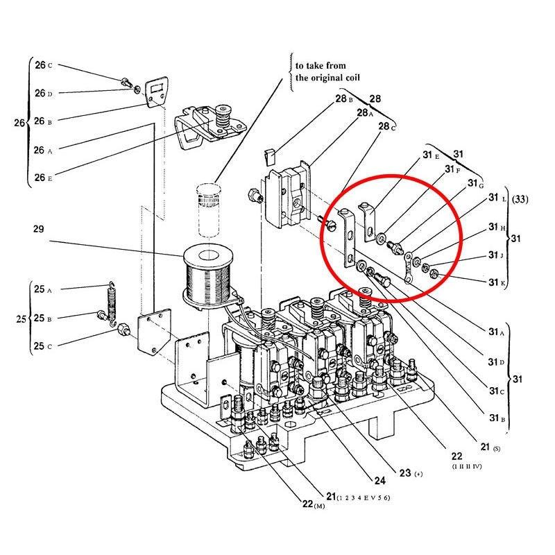 FIXED CONTACT ASSEMBLY