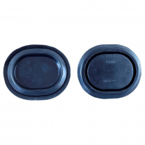 1979-93 Hatchback Oval Bottom Corners Rubber Plugs