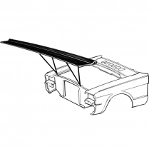 1965-70 Radiator Support to Hood Seal