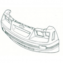 1985-86 GT Front Bumper Cover