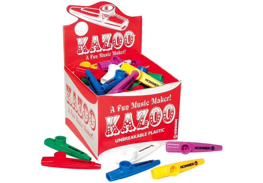 music in motion hohner plastic kazoo box of 50