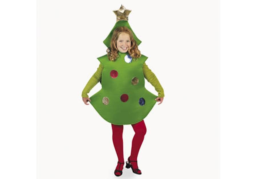 Home creative dramatics costumes props christmas tree costume