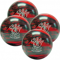 COBRA - RED/BLACK - CANDLEPIN