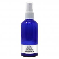 Blue Glass Bottle 100 ml + White Sprayer 18 NTE