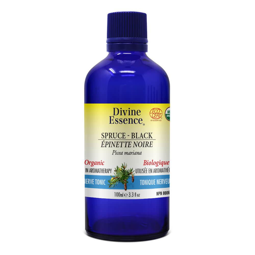 Spruce - Black Organic