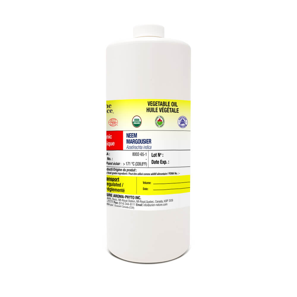 Margousier (Neem) 85% + olive 15% Biologique