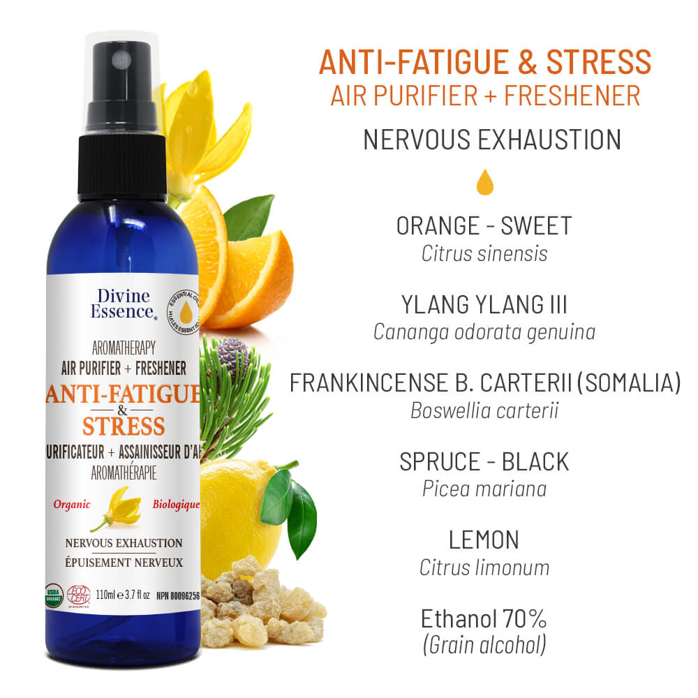 Purificateur + Assainisseur d'Air - Anti-fatigue & stress