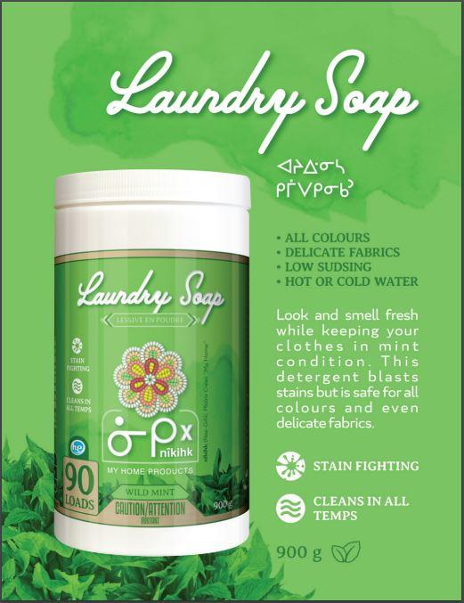 Laundry Powder (Wild Mint) 900g
