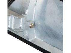 Arctic Standard Duty Steel Blade Snowplow - Pins