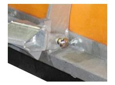Arctic Light Duty Poly Blade Snowplow - Pins