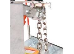 Arctic Light Duty Poly Blade Snowplow - Lift Chains