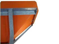 Arctic Hitch Mount Salter - Galvanized Steel Frame