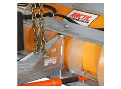 Arctic Light Duty Poly Blade Snowplow - Greaseable Center Hinge